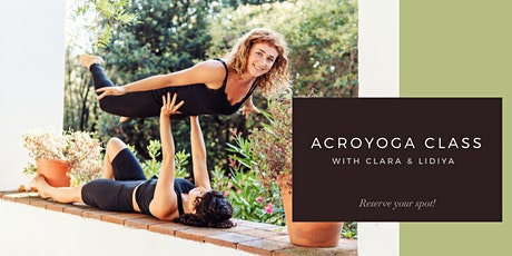 Acroyoga Class ✦ Multi-Level biglietti