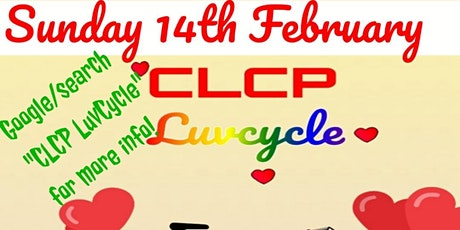 Copy of CLCP  Valentines LuvCycle  (Crossing Lanes Cycle Project) tickets