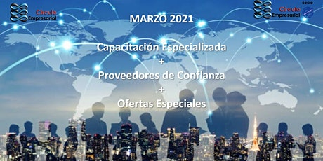 Capacitación Especializada Marzo 2021 entradas