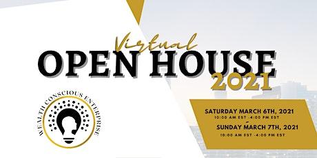 Wealth Conscious Enterprise (WCE) Virtual Open House 2021 tickets