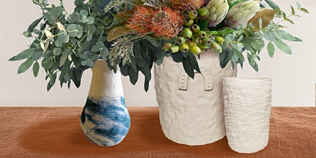 Coiled Clay Vase Workshop tickets