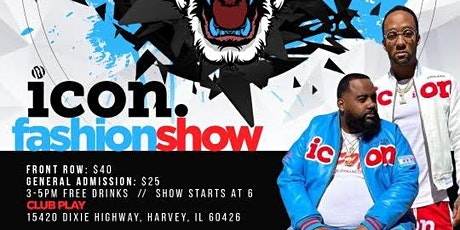 Icon fashion show tickets