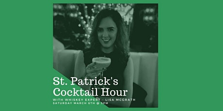 St.Patrick's Day Whiskey Cocktails with Lisa McGrath tickets