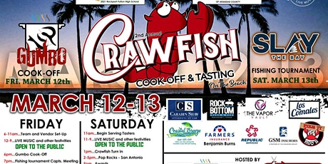 2nd Annual Rockport's Crawfish Cook-Off and Tasting tickets