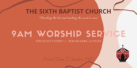 9AM Worship Service   February 28, 2021 tickets
