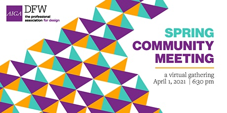 Spring Design Community Meeting tickets