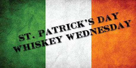 St. Patrick's Day Whiskey Wednesday tickets