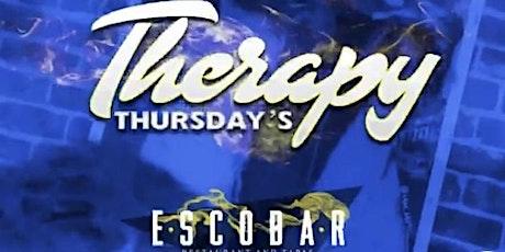 THERAPY THURSDAYS @ ESCOBAR tickets