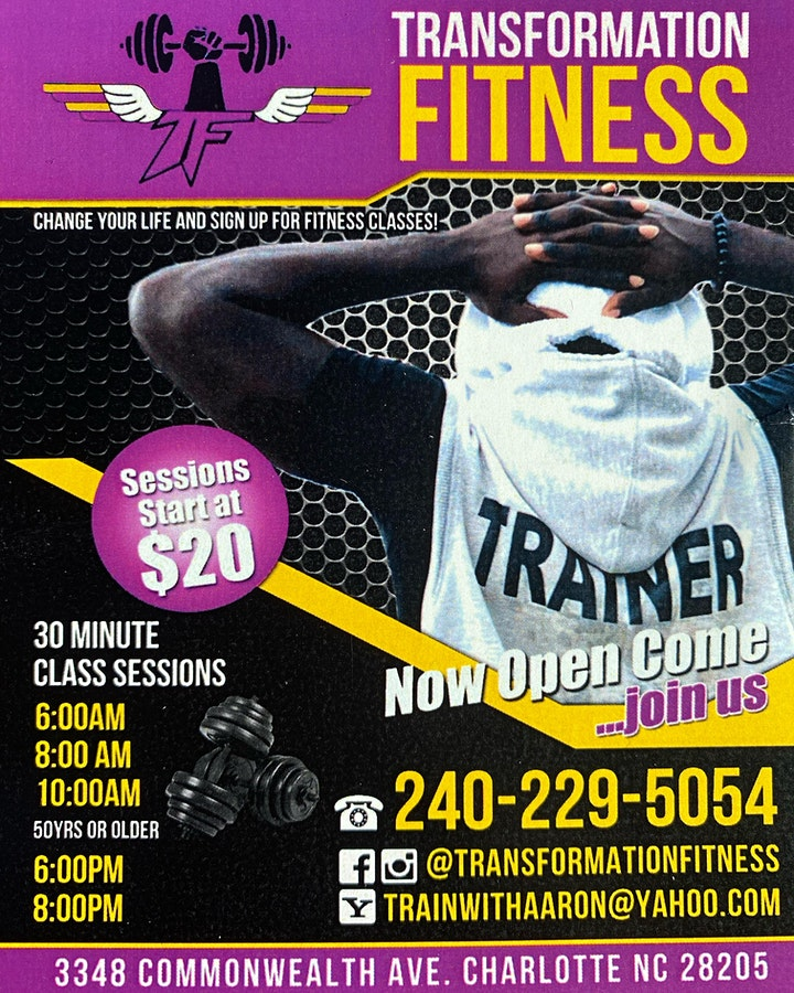 Transformation Fitness: BOOT CAMP image