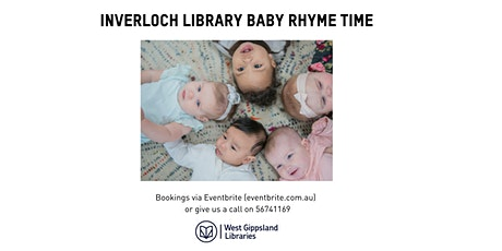 Inverloch Library Baby Rhyme Time tickets