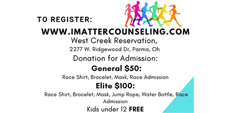 I Matter Counseling & Empowerment Services, 1st Annual 5K Walk/Run tickets