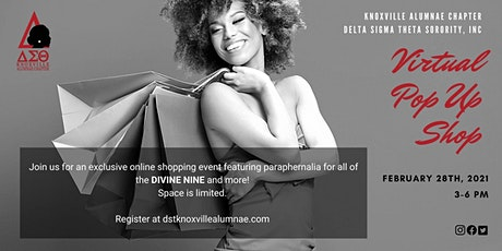 Divine Nine Virtual Pop Up Shop tickets