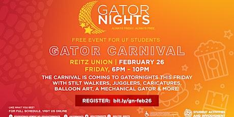 GatorNights Presents: Gator Carnival tickets