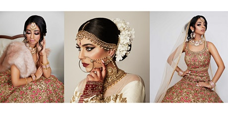 South Asian Bridal Hair + Dressing & Jewellery Setting Workshop tickets
