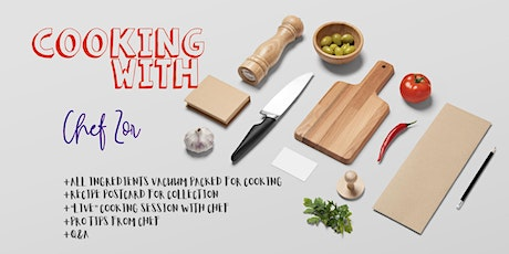 Cooking with Chef Zor tickets