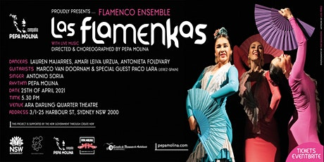 "Flamenco Ensemble ""Las Flamenkas"" with Live Music tickets"