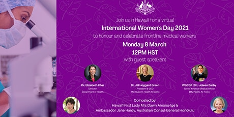 International Women's Day 2021 Honolulu tickets