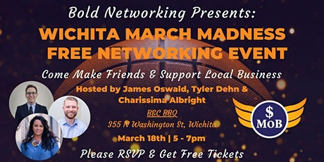 KS | Wichita Cash Mob - FREE Networking Event | March 2021 tickets