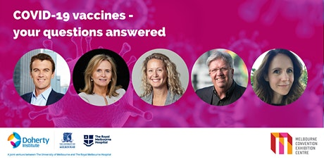 COVID-19 vaccines - Your questions answered tickets