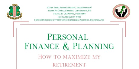 Personal Finance & Planning. How To Maximize My Retirement tickets