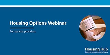 NDIS Housing Options Webinar for Service Providers | Murrumbidgee | NSW tickets