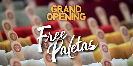 FREE Ice Cream Paletas - Boca Raton Store Grand Opening - Morelia tickets