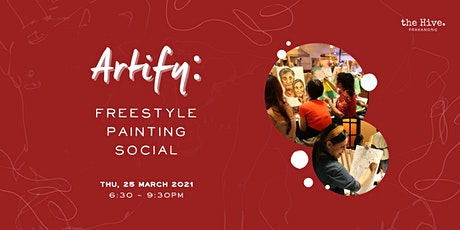 Artify: Freestyle Painting Social tickets