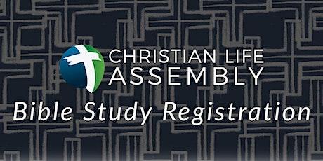 Thursday Night Bible Study tickets