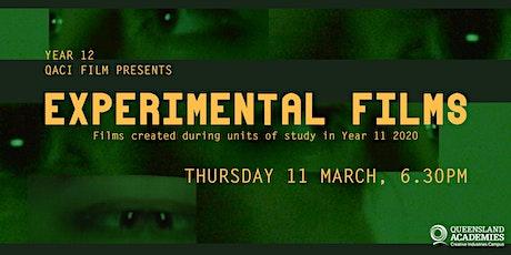 Year 12 QACI Experimental Film Screening tickets