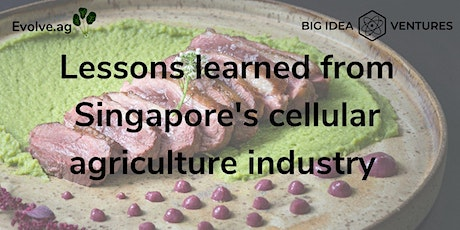 Lessons learned from Singapore's cellular agriculture industry tickets