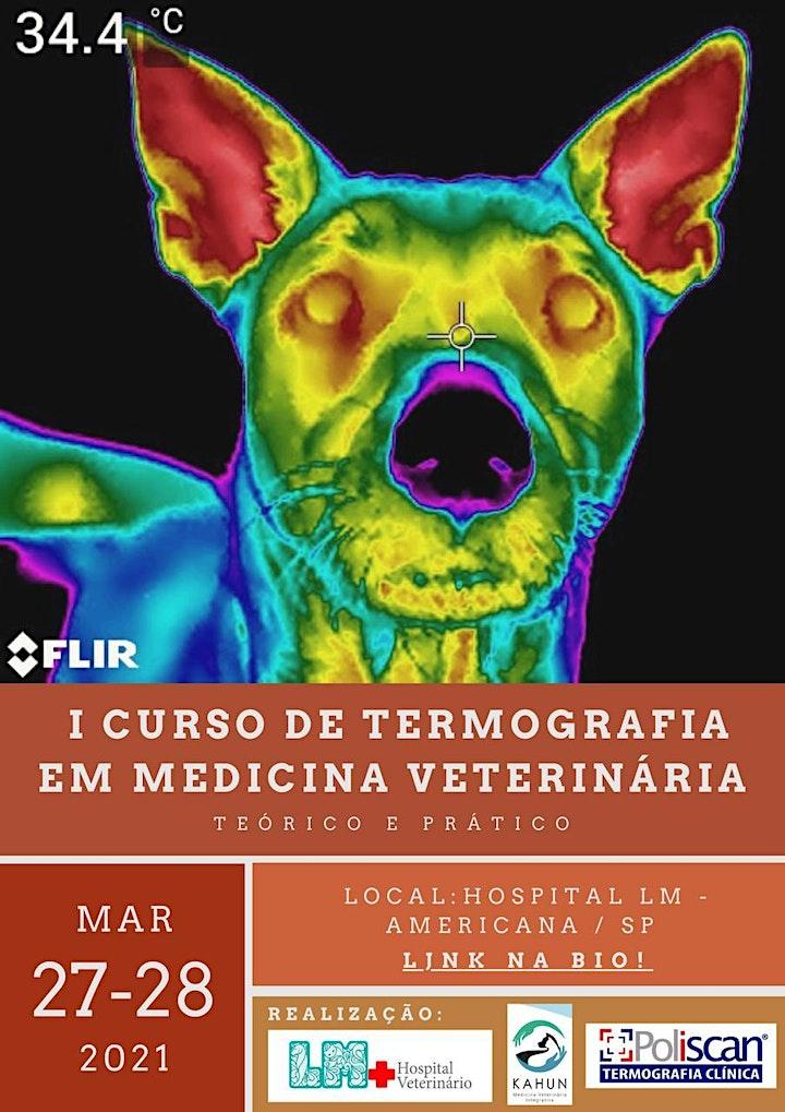 Imagem do evento I Curso de Termografia em Medicina Veterinária