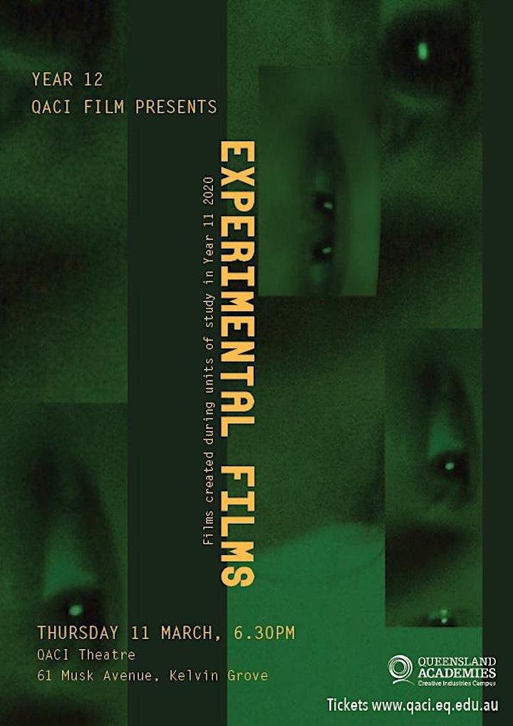 Year 12 QACI Experimental Film Screening image