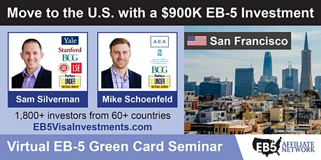 U.S. Green Card Virtual Seminar – San Francisco, US tickets