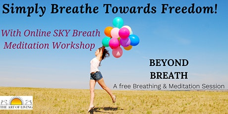 Breathing-Meditation: An Introduction to SKY Breath Meditation Workshop tickets