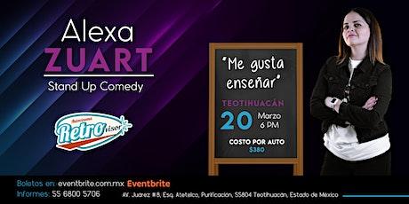 Alexa Zuart | Stand Up Comedy | Teotihuacán entradas