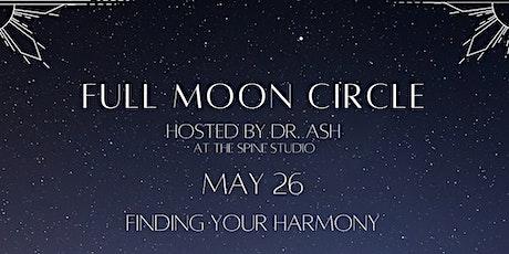Full Moon Circle - May tickets