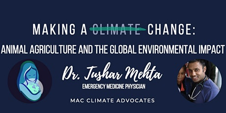 Making a (Climate) Change: Animal Agriculture & Global Environmental Impact tickets