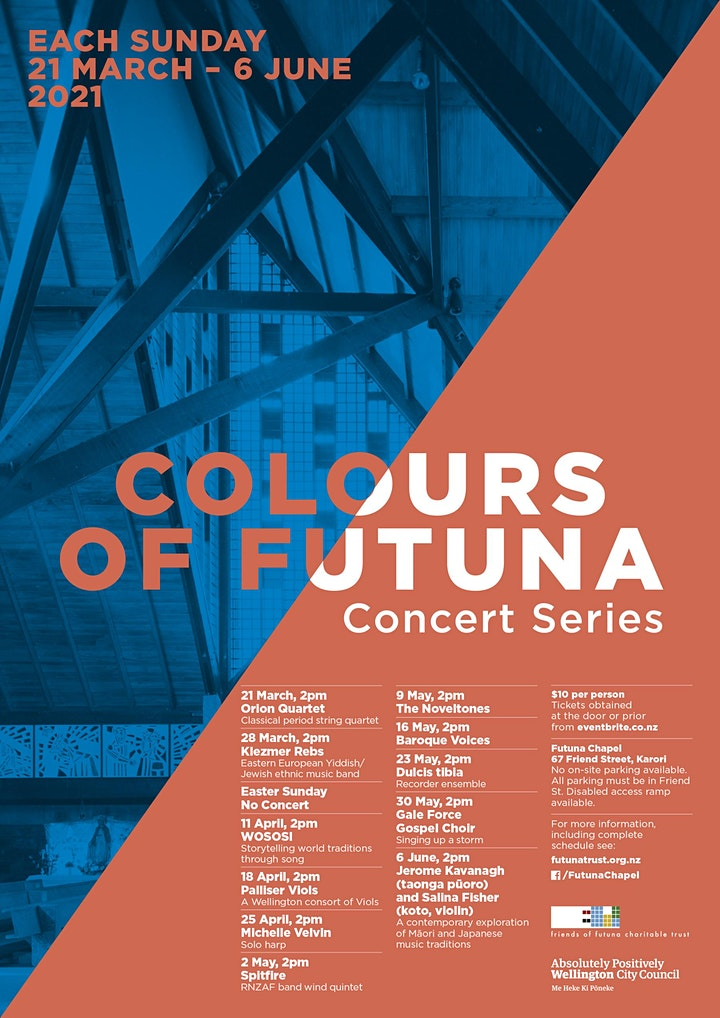 COLOURS OF FUTUNA CONCERT SERIES image