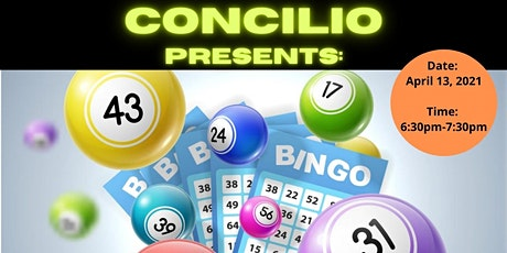 Concilio Presents: Virtual Bingo for Charitable Cause tickets