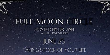 Full Moon Circle - June tickets