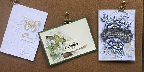Cardmaking with Rebecca O'Gorman Independent Stampin' Up! Demonstrator tickets