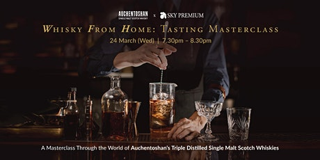 Whisky From Home: Tasting Masterclass tickets