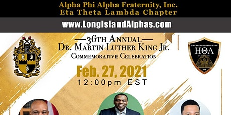 36th Annual Dr. Martin Luther King, Jr. Celebration tickets