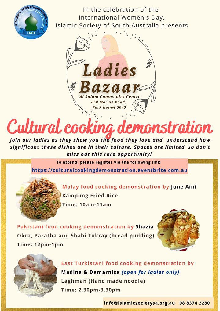 Cultural cooking demonstration image