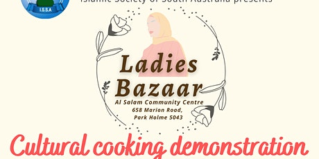 Cultural cooking demonstration tickets