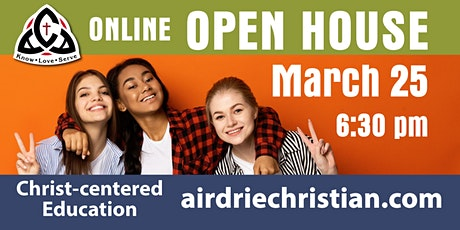 ACA ONLINE Open House - K. to Grade 12 at 6:30 pm tickets