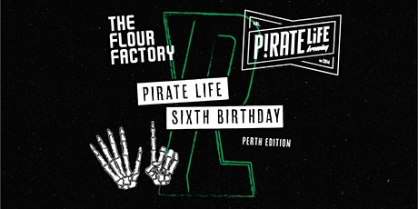 Pirate Life Sixth Birthday Perth Party tickets
