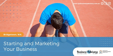 Starting and Marketing Your Business tickets