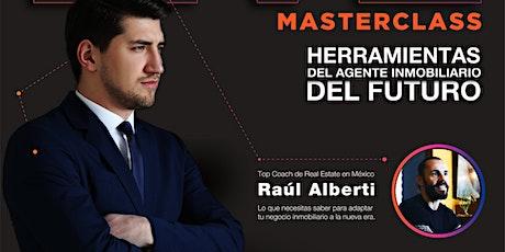 Masterclass Inmobiliario con Coach Raúl Alberti boletos