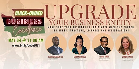 Black-Owned Business Excellence: Upgrade Your Business Entity tickets